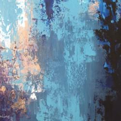 Abstrakt, 30x40cm, Acryl auf Keilrahmen