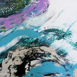 Abstrakt, 40x60cm, Acryl auf Keilrahmen