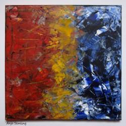 Abstrakt, 40x40cm, Acryl auf Keilrahmen