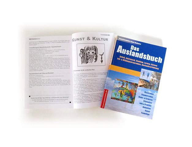 Buchinnenseite Das Auslandsbuch