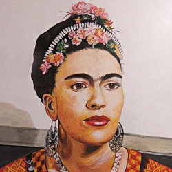 Portrait Frida Kahlo