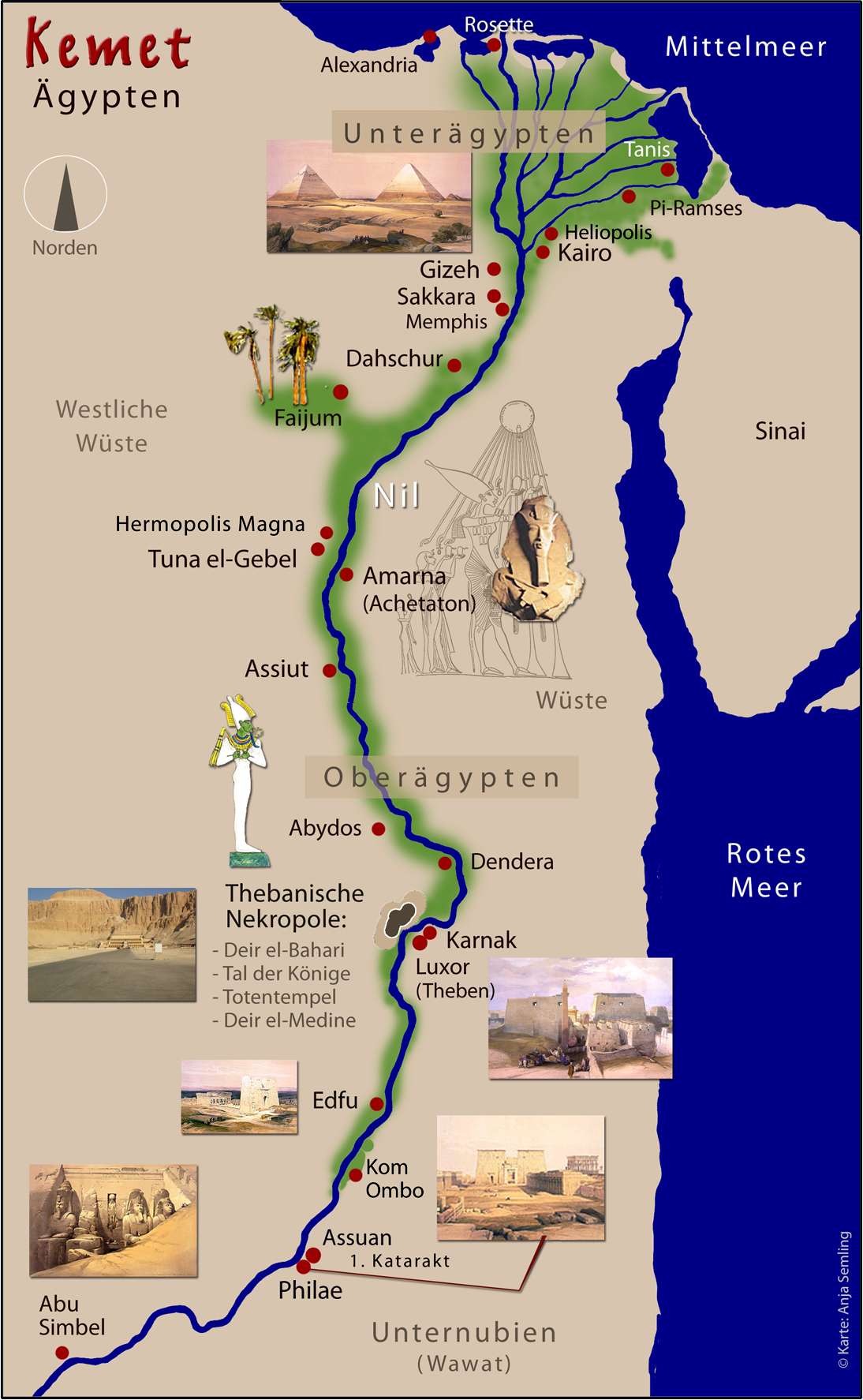 Kemet Landkarte