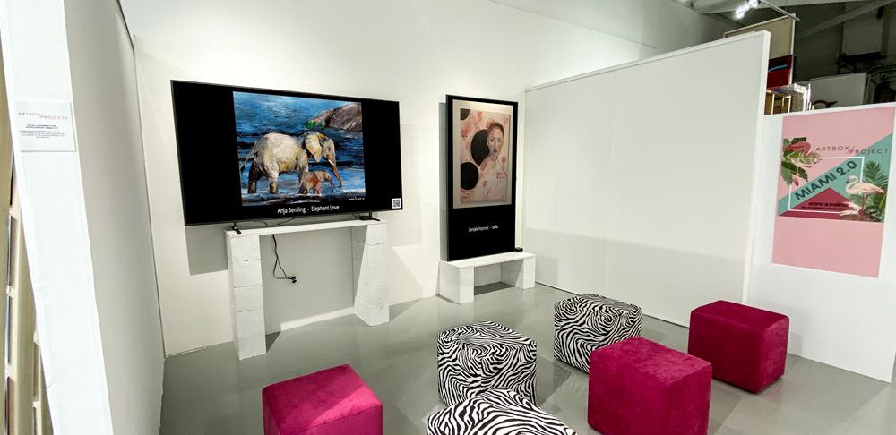 Ausstellung Miami ARTBOX