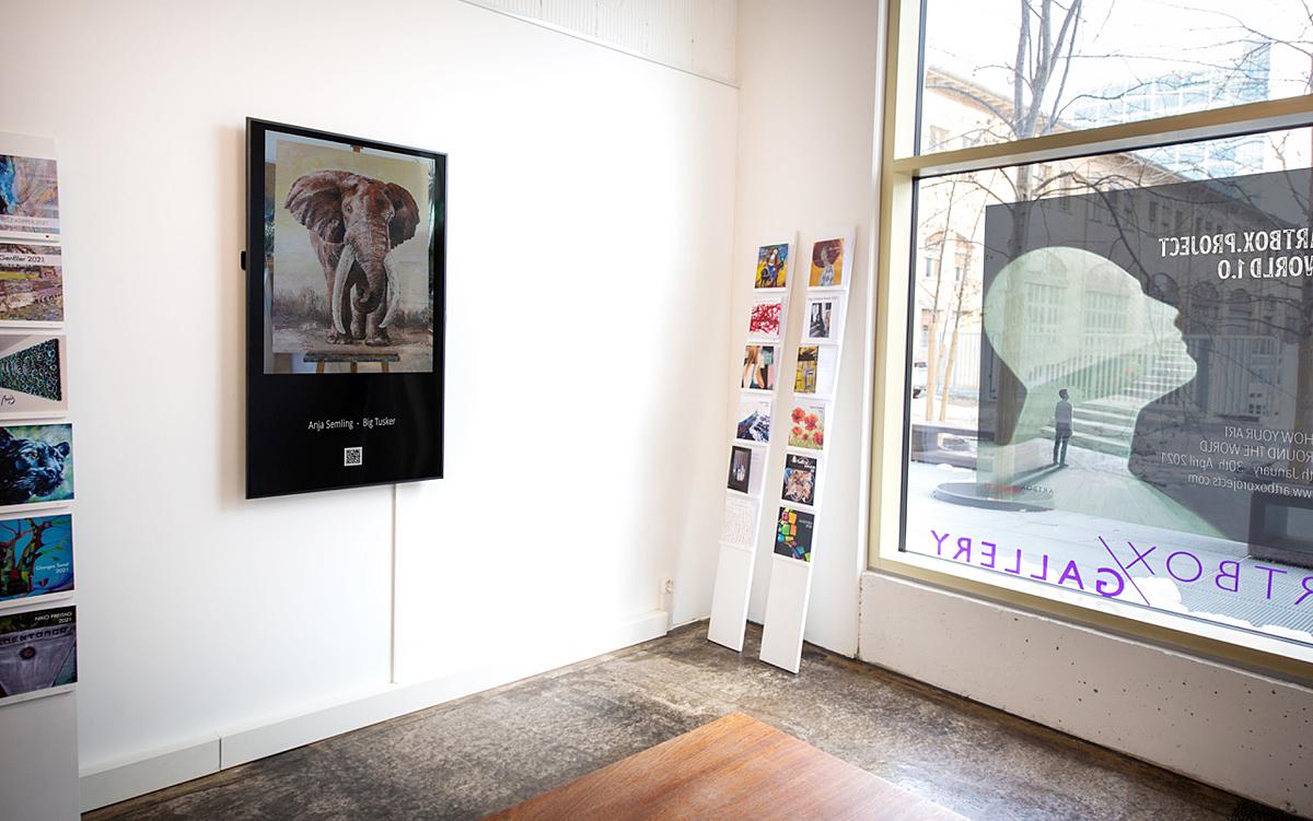 Ausstellung ARTBOX Gallery Zürich