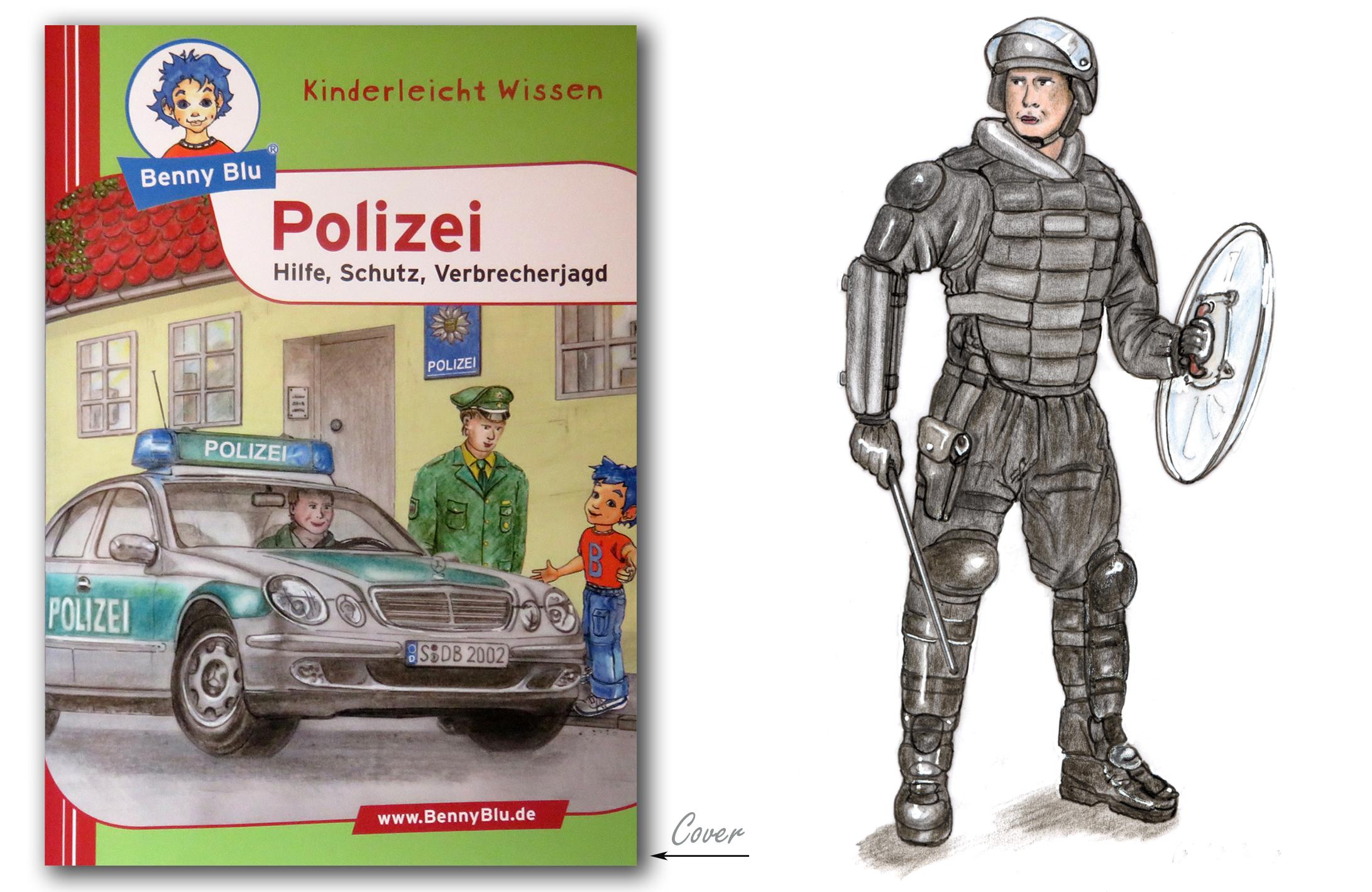 Polizei Kinderheft