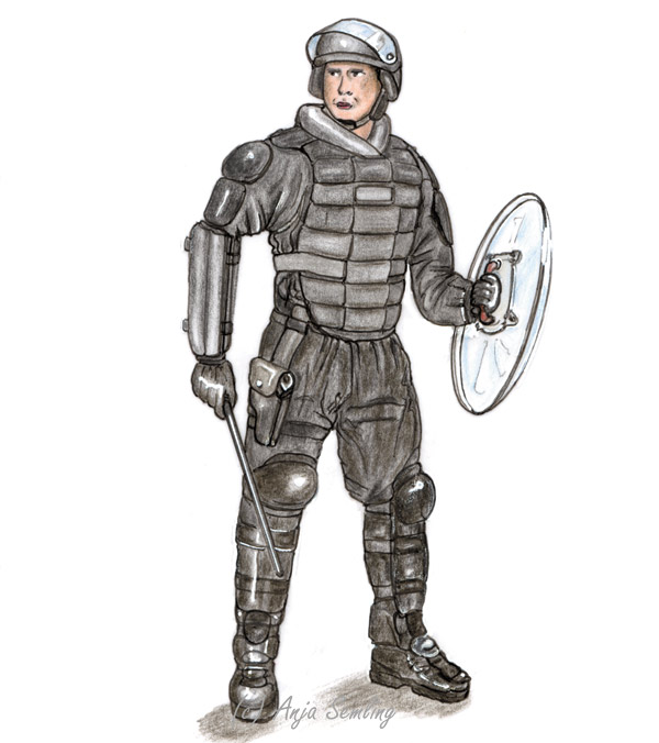 Illustration: Polizei SEK