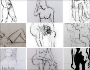Bildkunst - Aktstudien