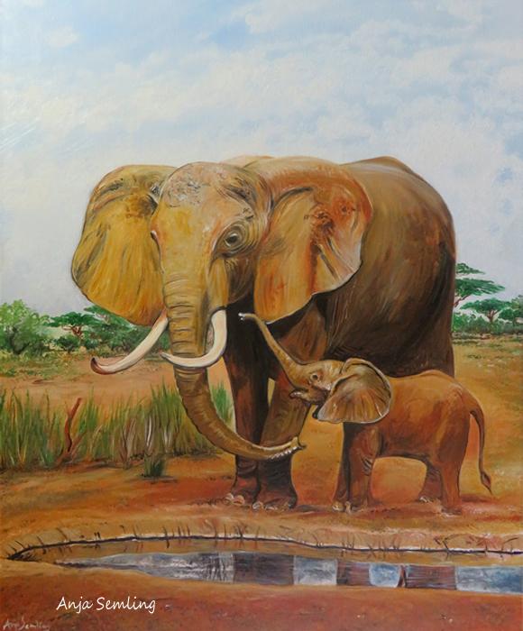 Bildkunst: Elefant