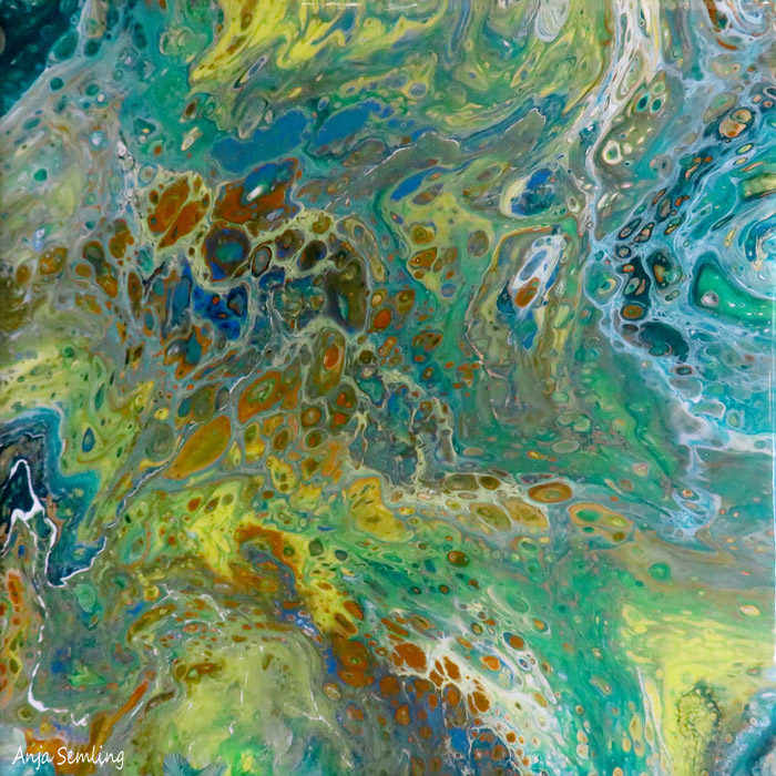Acryl Pouring
