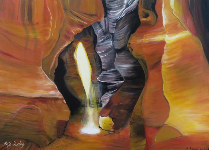 Gemälde Antelope Canyon