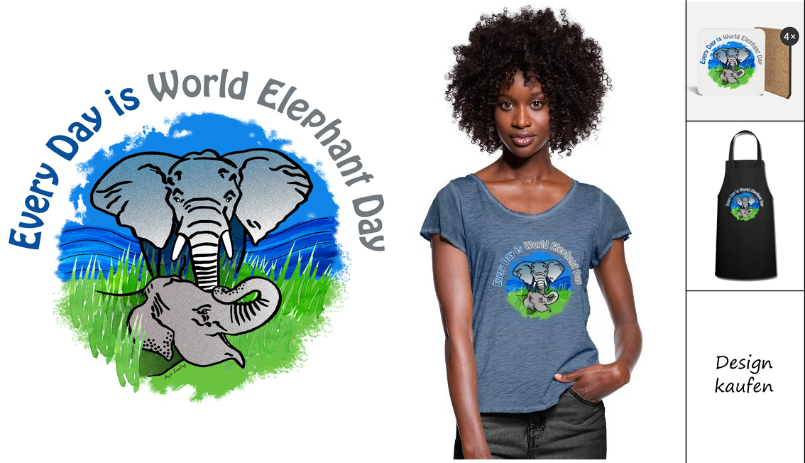 Every day is world elephant day